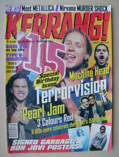 <!--1996-08-31-->Kerrang magazine - 31 August 1996 (Issue 612)