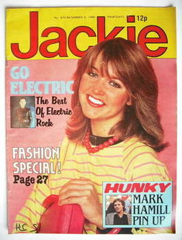 <!--1980-11-08-->Jackie magazine - 8 November 1980 (Issue 879)