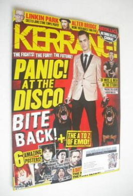 <!--2013-10-19-->Kerrang magazine - Panic! At the Disco cover (19 October 2