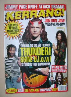 <!--1995-04-22-->Kerrang magazine - 22 April 1995 (Issue 542)