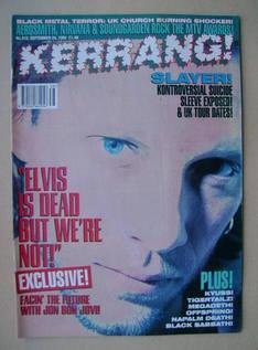 <!--1994-09-24-->Kerrang magazine - Jon Bon Jovi cover (24 September 1994 -
