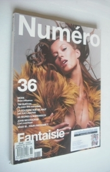 Numero magazine - September 2002 - Gisele Bundchen cover