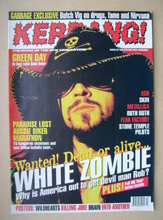 <!--1996-03-30-->Kerrang magazine - 30 March 1996 (Issue 590)