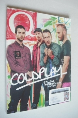 <!--2012-01-->Q magazine - Coldplay cover (January 2012 - Subscriber's Issu