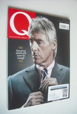 <!--2012-05-->Q magazine - Paul Weller cover (May 2012 - Subscriber's Issue