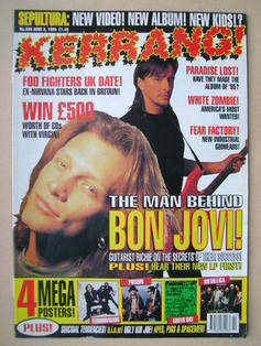 <!--1995-06-03-->Kerrang magazine - 3 June 1995 (Issue 548)