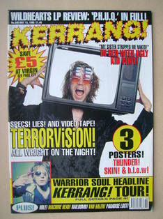 <!--1995-05-13-->Kerrang magazine - 13 May 1995 (Issue 545)