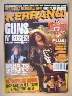 <!--1994-07-16-->Kerrang magazine - 16 July 1994 (Issue 503)