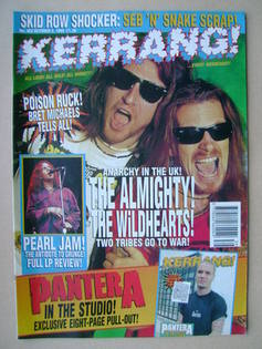 <!--1993-10-02-->Kerrang magazine - 2 October 1993 (Issue 463)