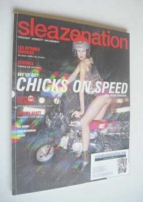 <!--2000-09-->Sleazenation magazine - September 2000