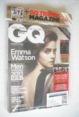 <!--2013-10-->British GQ magazine - October 2013 - Emma Watson cover