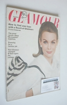 Glamour magazine - Jean Shrimpton cover (October 1963) (USA Edition)