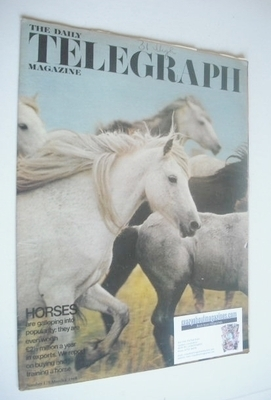 <!--1968-03-01-->The Daily Telegraph magazine - Horses cover (1 March 1968)