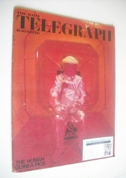 The Daily Telegraph magazine - The Human Guinea Pigs cover (8 March 1968)