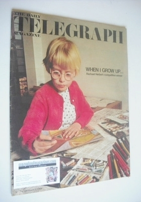 <!--1968-03-15-->The Daily Telegraph magazine - Rachael Herbert cover (15 M