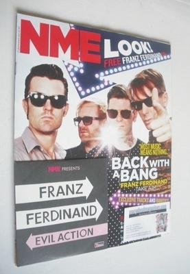 <!--2013-09-21-->NME magazine - Franz Ferdinand cover (21 September 2013)
