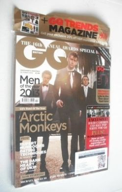<!--2013-10-->British GQ magazine - October 2013 - Arctic Monkeys cover