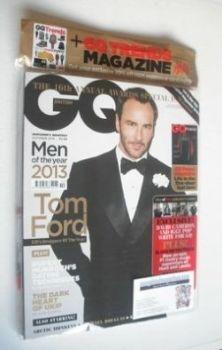 British GQ magazine - October 2013 - Tom Ford cover