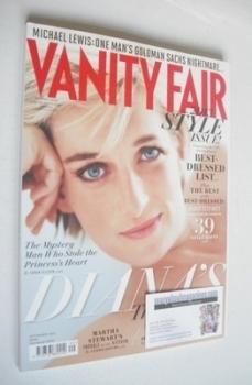 Vanity Fair magazine - Princess Diana cover (September 2013)