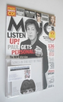 MOJO magazine - Paul McCartney cover (November 2013 - Issue 240)