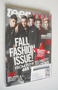 Teen Vogue magazine - September 2013 - One Direction cover