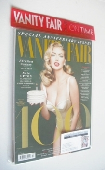 Vanity Fair magazine - Kate Upton cover (October 2013)