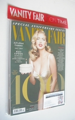 <!--2013-10-->Vanity Fair magazine - Kate Upton cover (October 2013)