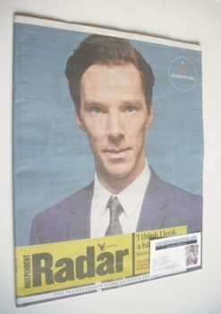 The Independent Radar magazine - Benedict Cumberbatch cover (5 October 2013)