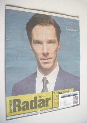 The Independent Radar magazine - Benedict Cumberbatch cover (5 October 2013
