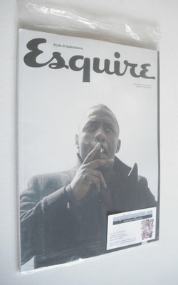 <!--2013-11-->Esquire magazine - Idris Elba cover (November 2013 - Subscrib