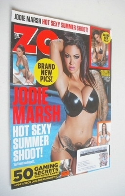 <!--2013-08-30-->Zoo magazine - Jodie Marsh cover (30 August 2013)