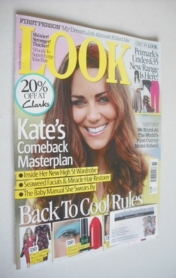 <!--2013-09-02-->Look magazine - 2 September 2013 - Kate Middleton cover