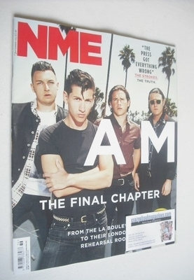 <!--2013-09-07-->NME magazine - Arctic Monkeys cover (7 September 2013)
