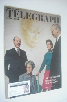 The Daily Telegraph magazine - The Psychiatrists cover (22 March 1968)