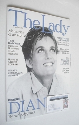 <!--2013-08-16-->The Lady magazine (16 August 2013 - Princess Diana cover)