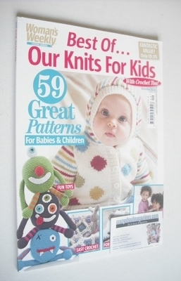<!--2040-02-->Woman's Weekly magazine - Best Of Our Knits For Kids