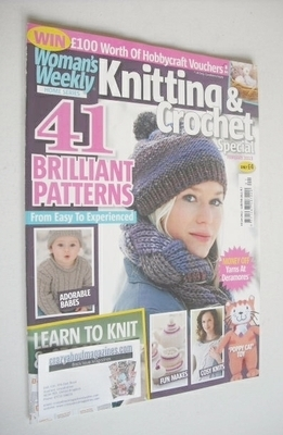 <!--2013-02-->Woman's Weekly magazine - Knitting and Crochet Special (Febru