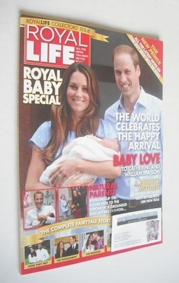 Royal Life magazine - Kate Middleton, Prince William and Prince George cove