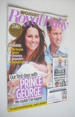 <!--2013-07-30-->Woman magazine (30 July 2013 - Royal Baby Souvenir Issue)