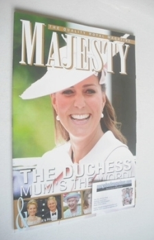 Majesty magazine - Kate Middleton cover (August 2013)