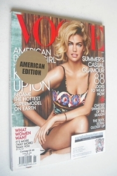US Vogue magazine - June 2013 - Kate Upton cover