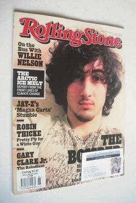 Rolling Stone magazine - Dzhokhar Tsarnaev cover (1 August 2013)