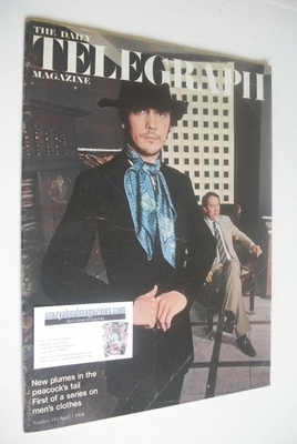 <!--1968-04-05-->The Daily Telegraph magazine - Terence Stamp cover (5 Apri
