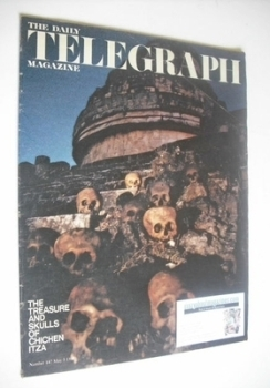 The Daily Telegraph magazine - Treasure and Skulls cover (3 May 1968)