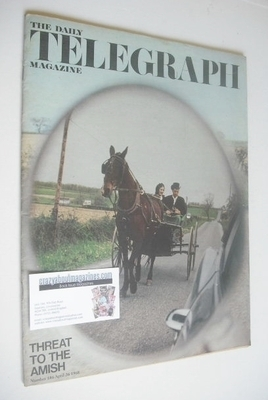 <!--1968-04-26-->The Daily Telegraph magazine - Threat To The Amish cover (