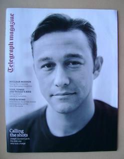 <!--2013-11-02-->Telegraph magazine - Joseph Gordon-Levitt cover (2 Novembe