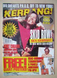 <!--1995-04-08-->Kerrang magazine - 8 April 1995 (Issue 540)