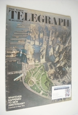 <!--1968-06-14-->The Daily Telegraph magazine - Manhattan cover (14 June 19