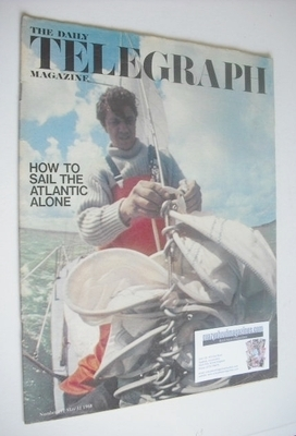 <!--1968-05-31-->The Daily Telegraph magazine - How To Sail The Atlantic Al
