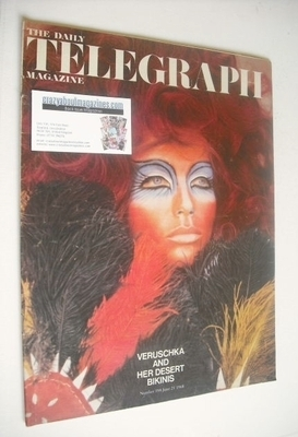 <!--1968-06-21-->The Daily Telegraph magazine - Veruschka cover (21 June 19